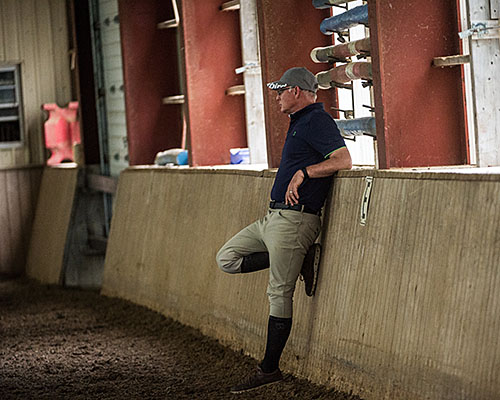 John Skey Certified Level 2 Equine Canada Coach Riding Instructor Hunter Jumper